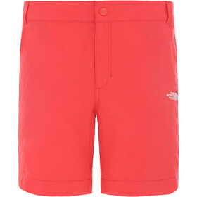 The North Face Exploration korte broek Set, Regular Dames, cayenne red